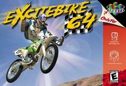 Excitebike 64 (USA) Box Scan